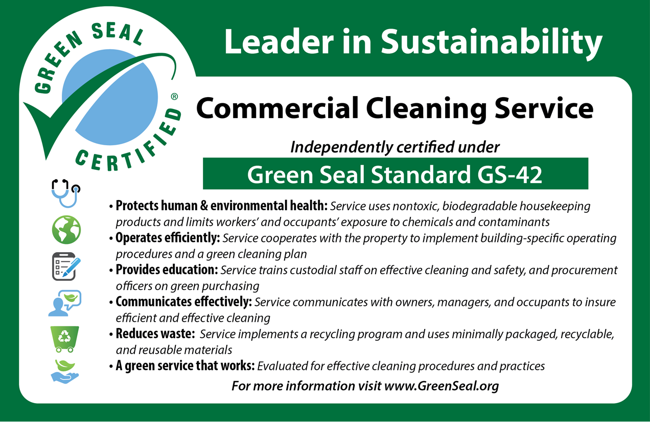 Sustainability Green Cleaning Janitorial Services Ussi
